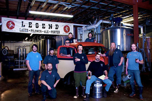 Legends Brewing
