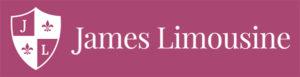James Limousine Logo (Maroon)